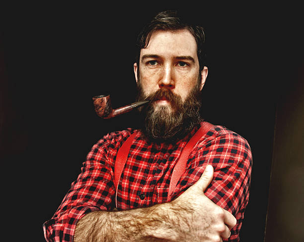 barba estilo leñador