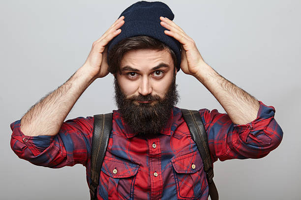barba de leñador pelo en pecho