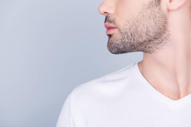 barba cuello afeitado