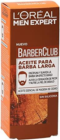 aceite para barba loreal