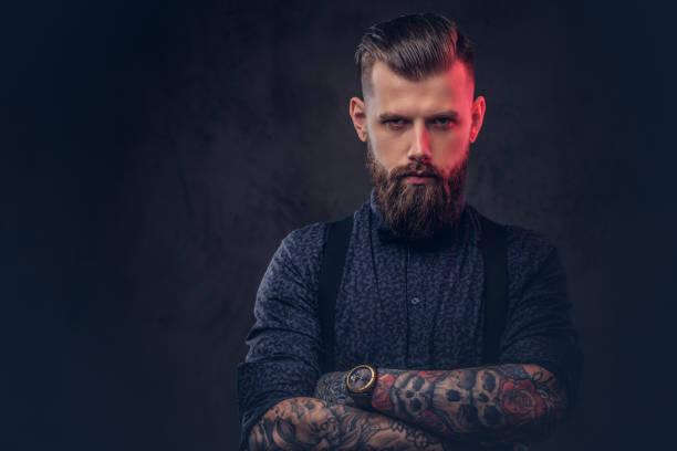 barba hipster brizzolata