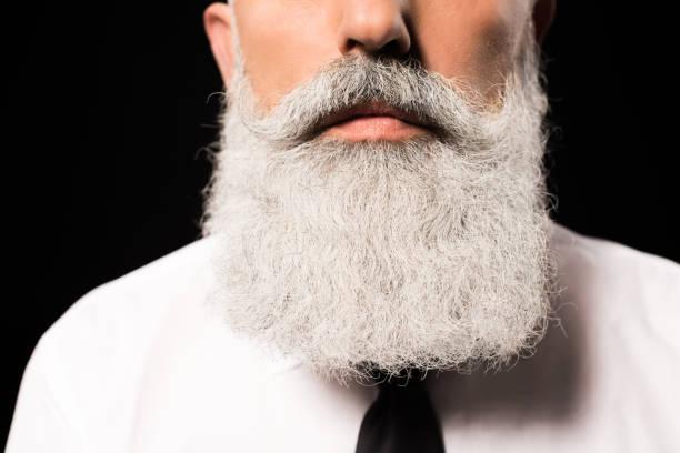 barba blanca a ingles