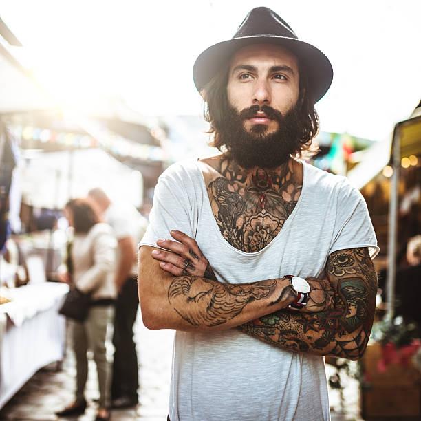 estilos de barba hipster