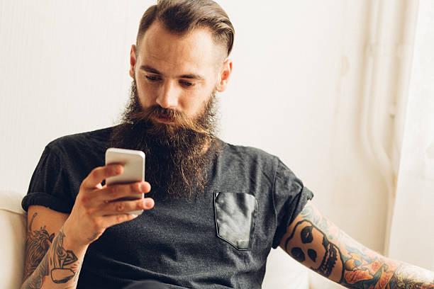 barba completa hipster