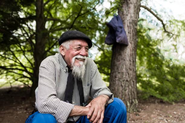 barba perilla larga