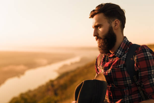 tipos de barba elegante
