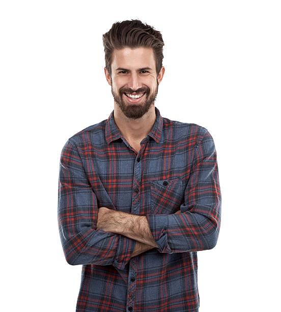 hombres con barba blanca