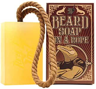 jabon para barba macho