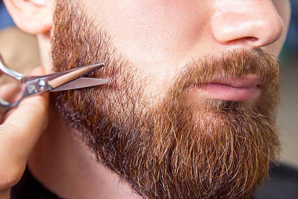 recortar barba maquina