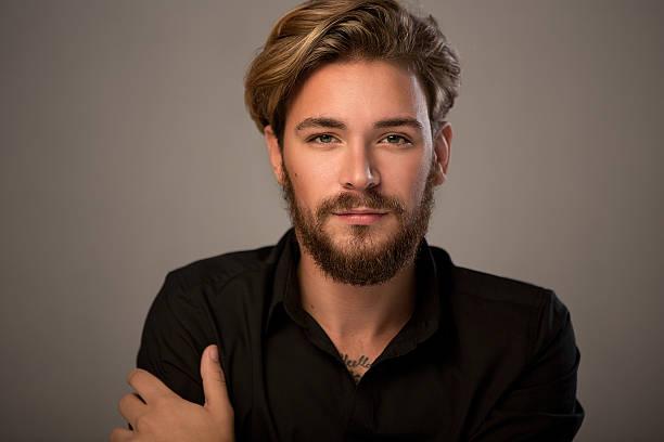 corte de barba con navaja