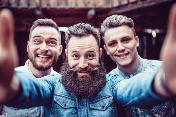 tipos de barba adolescente