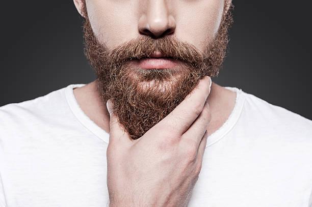 tipo de barba larga