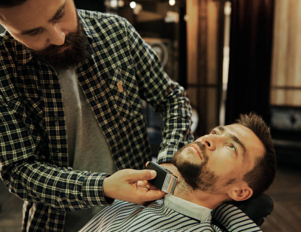 arreglar barba blanca