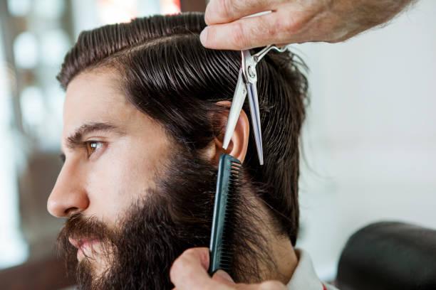 a cortar barba