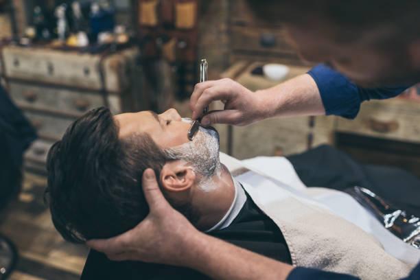 corta barba a pilas