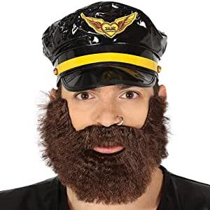 barba postiza blanca