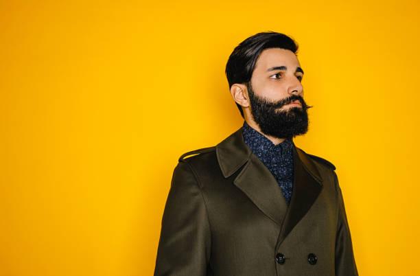 barba larga recortada