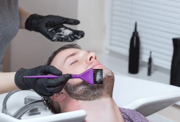 teñir barba azul