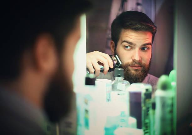 dejarse barba corta