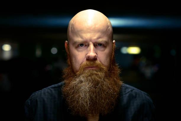 cortes para calvos con barba
