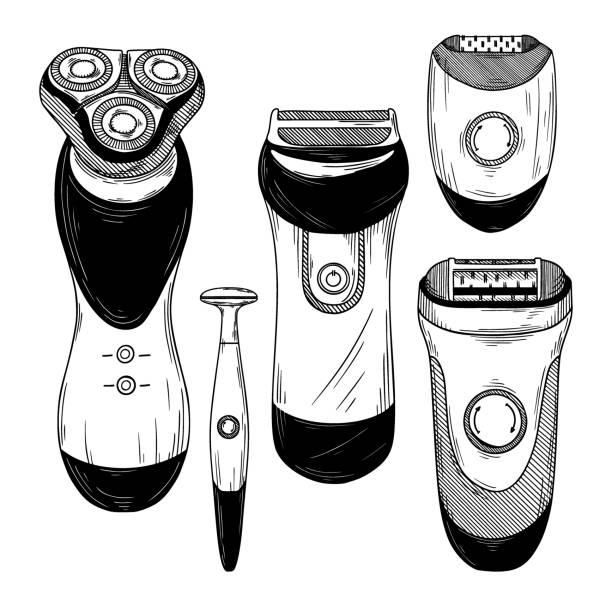 maquina afeitar barba larga