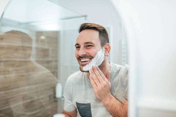 perfilar barba cara redonda