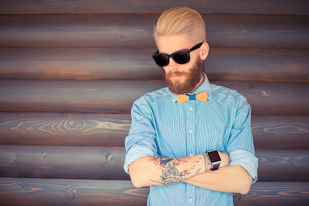 teñir barba rubia