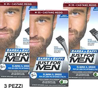 teñir barba corta