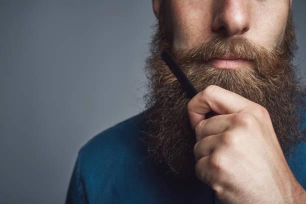 alisar barba com maizena
