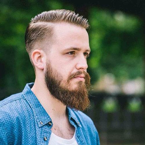 como hacer barba cola de pato