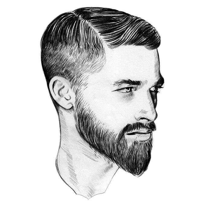 barba a punta
