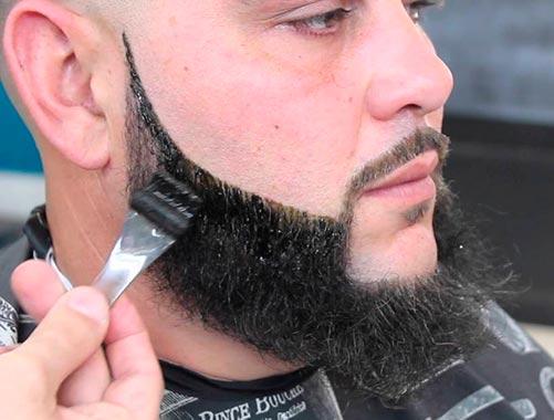 barba rala que es