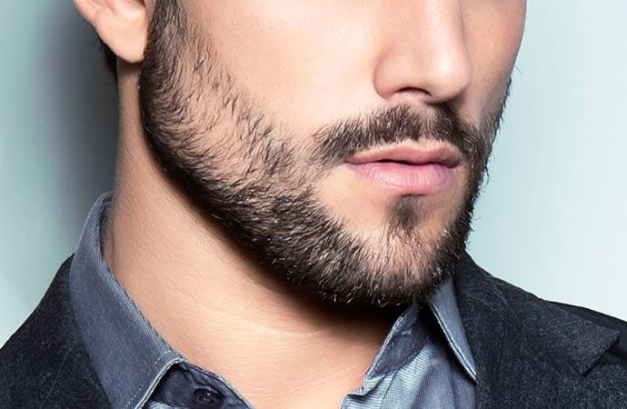barba rala significado