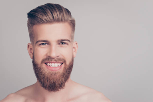 peinados hombre con barba