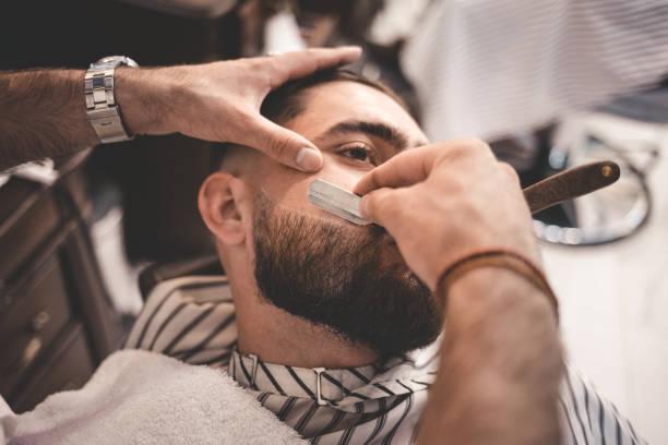 peinados con barba para hombres